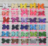 Girls 3-inch Hair Bow Set Of 2