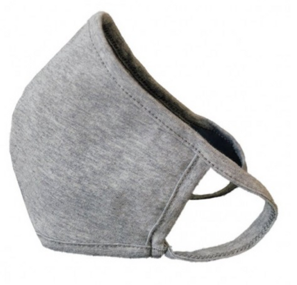 Heather Gray Adult Face Mask