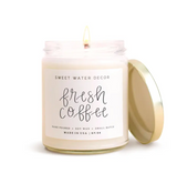 Sweet Water Fresh Coffee Soy Candle