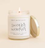 Sweet Water Sweater Weather Soy Candle