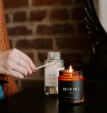 Sweet Water Amber Hello Fall Soy Candle