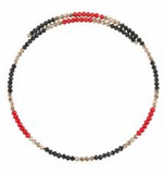 Gameday Beaded Choker Necklace