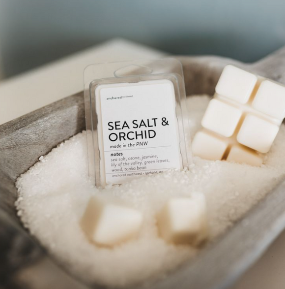 Sea Salt and Orchid Wax Melts