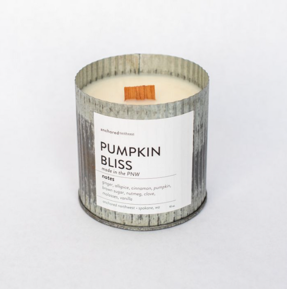 Pumpkin Bliss Candle by Anchored