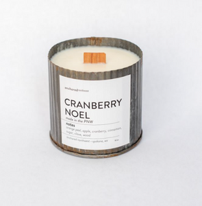 Cranberry Noel Candle by Anchored