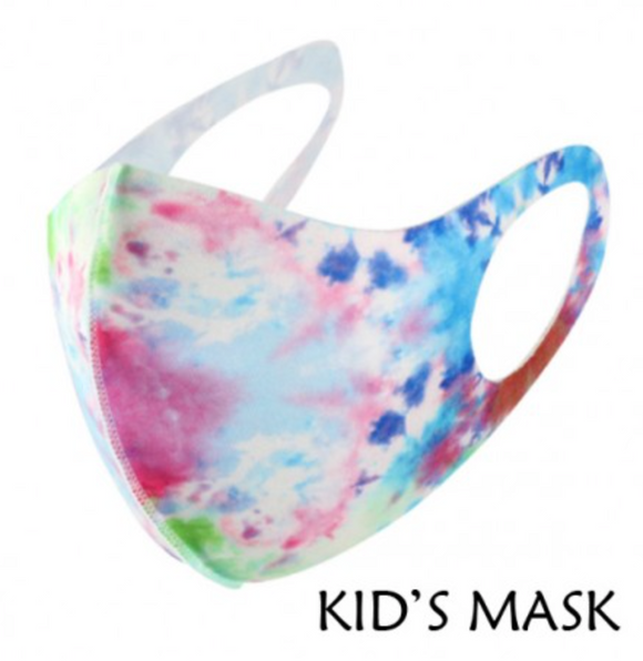 Kids Purple Multi Color Mask