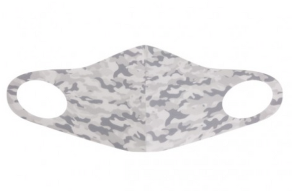 Adult Gray Neo Camo Mask