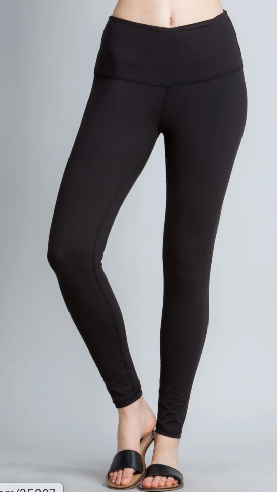 Black Super Soft Leggings