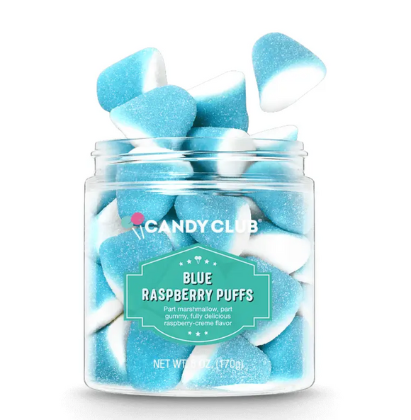 Candy Club Blue Raspberry Puffs