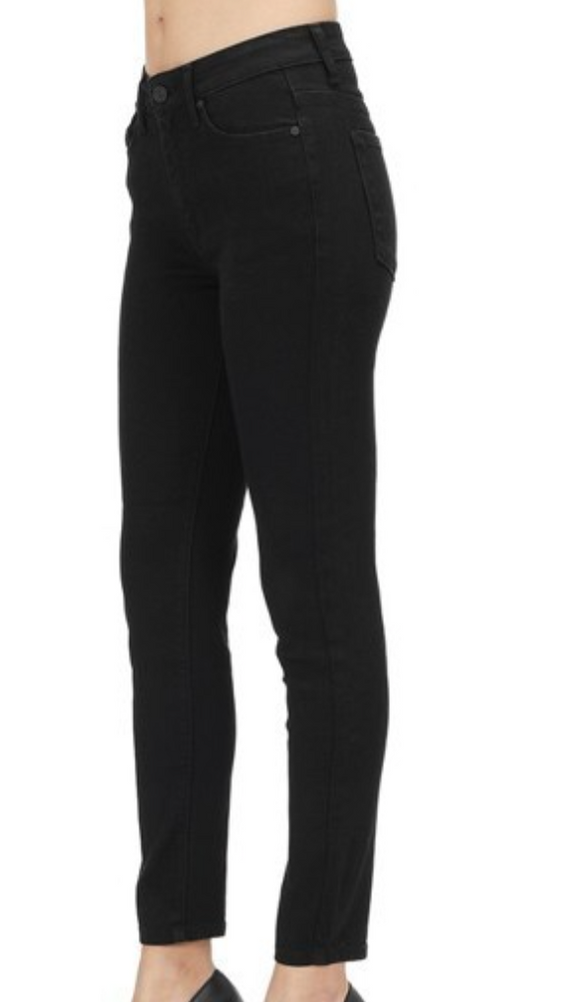 Black KanCan High Rise Super Skinny Jeans