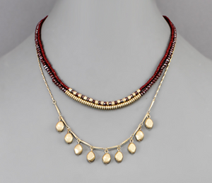 Holiday Party Layered Necklace