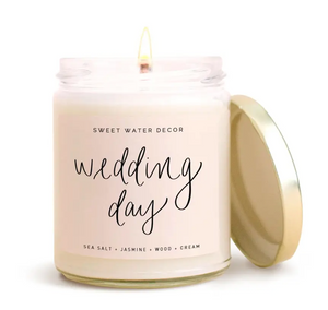 Sweet Water Wedding Day Soy Candle