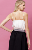 Steal the Show Drape Front Camisole