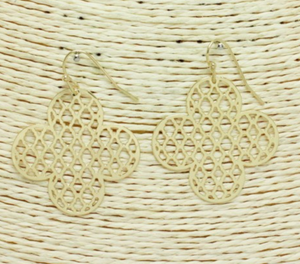 Filigree Quatrefoil Earrings