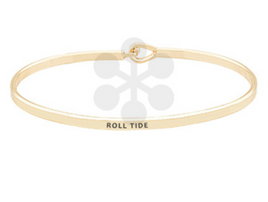 Roll Tide Metal Stacking Bangle