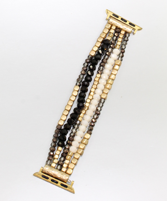 Beaded Bracelet Style Apple Watch Band