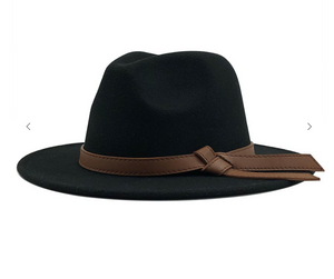 Tied Band Panama Hat