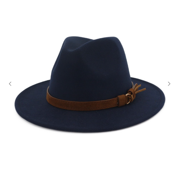 Black Dandy Point Panama Hat