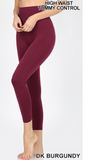 High Waist Tummy Control Leggings - Regular and Plus Sizes