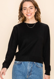 SALE Ellie Long Sleeve Lux Sweatshirt Sweater