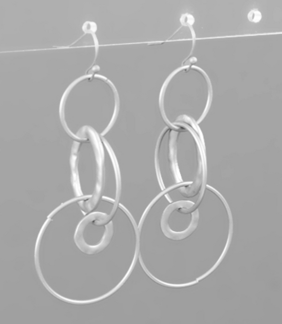 Embry Layered Circle Earrings