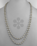 Donna Double Layered Beaded Necklace