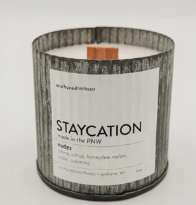 Staycation Candle By Anchored Northwest