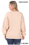 Blush Oversized Sweater