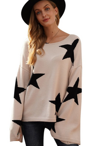 Starstruck Wide Sleeve Sweater
