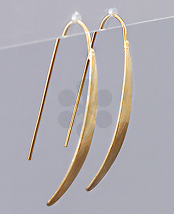Quinn Gold Drop Bar Earrings