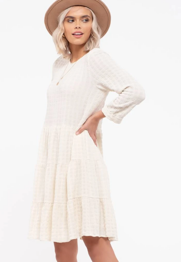 Gracie Tiered Knit Dress