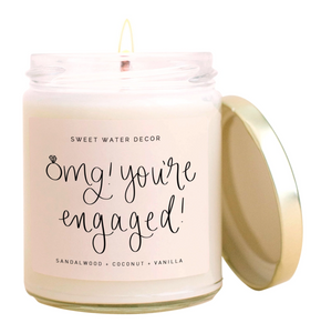 Sweet Water OMG You're Engaged Soy Candle