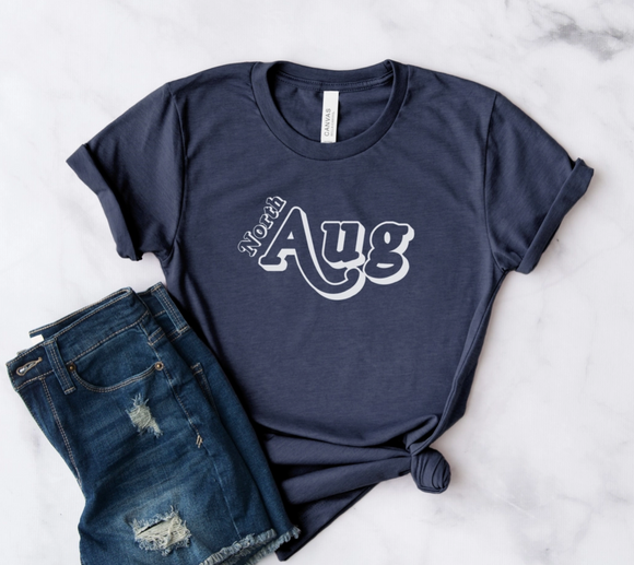North AUG Tee in Navy