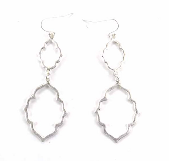 Quatrefoil Drop Earrings