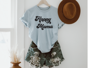 Happy Mama Graphic Tee