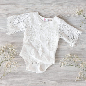 Boho Baby Lace Romper