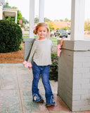 Girl's Embroidered Unicorn Jeans - Shoppe3130