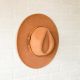 Brown Wide Brim Dandy Panama Hat