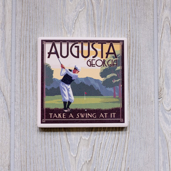 Aug GA Take a Swing Coaster