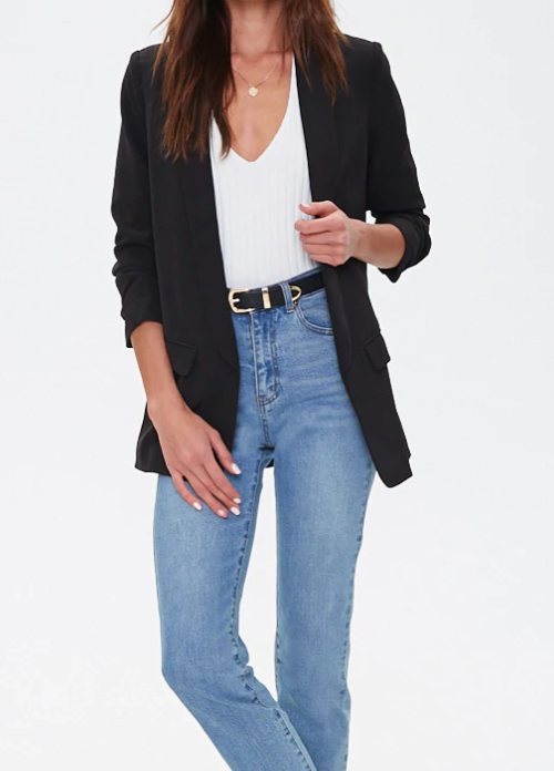 Black Blazer - Shoppe3130