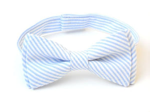 Boys Seersucker Bow Ties - Shoppe3130