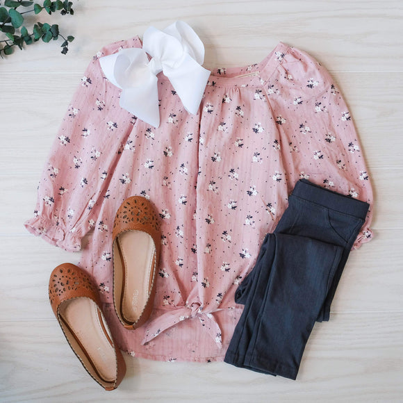 Girls Indian Pink Shirt