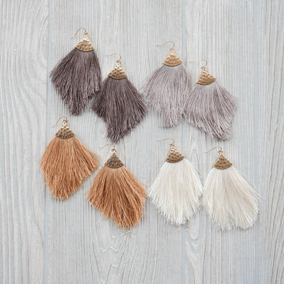 Willow Tassel Earrings
