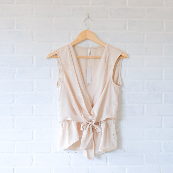 Champagne Dreams Sleeveless Top