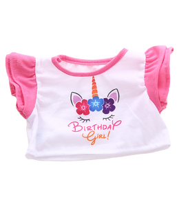 "Birthday Unicorn Girl Shirt SAB 16"" - Shoppe3130"
