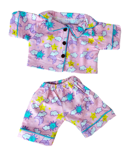"Pink Bear Jammies SAB 16"" - Shoppe3130"