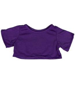 "Purple Bear Tee for 16"" SAB - Shoppe3130"