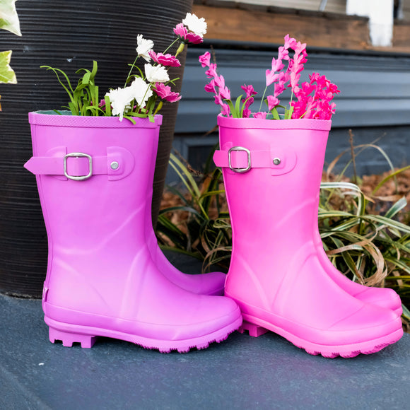 Purple Rainboots - Shoppe3130