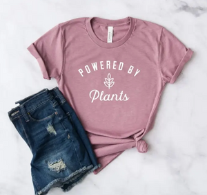 Powered By Plants Graphic Tee - Shoppe3130