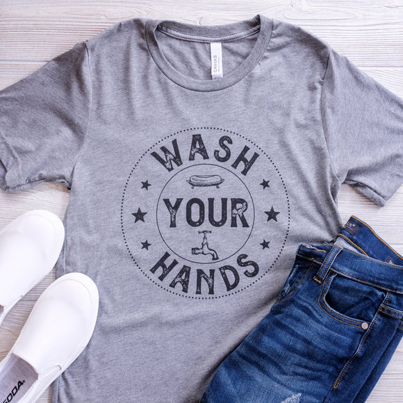 Wash Your Hands Graphic Tee - Shoppe3130